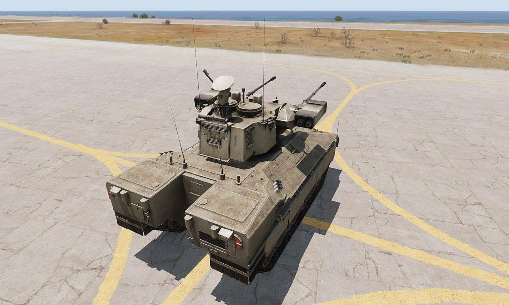 Arma3 IFV-6a Cheetah 自走対空砲 5
