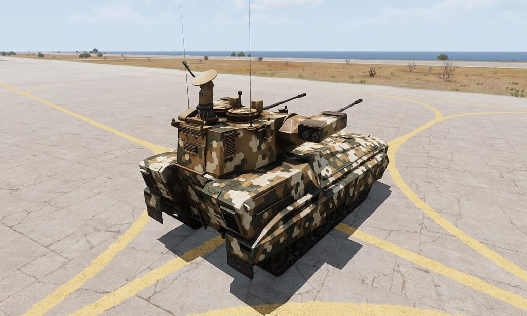 Arma3 Zsu-39 Tigris 自走対空砲 5