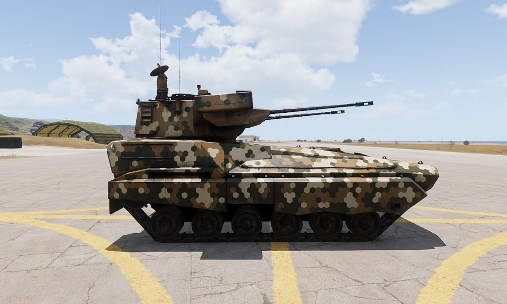 Arma3 Zsu-39 Tigris 自走対空砲 4