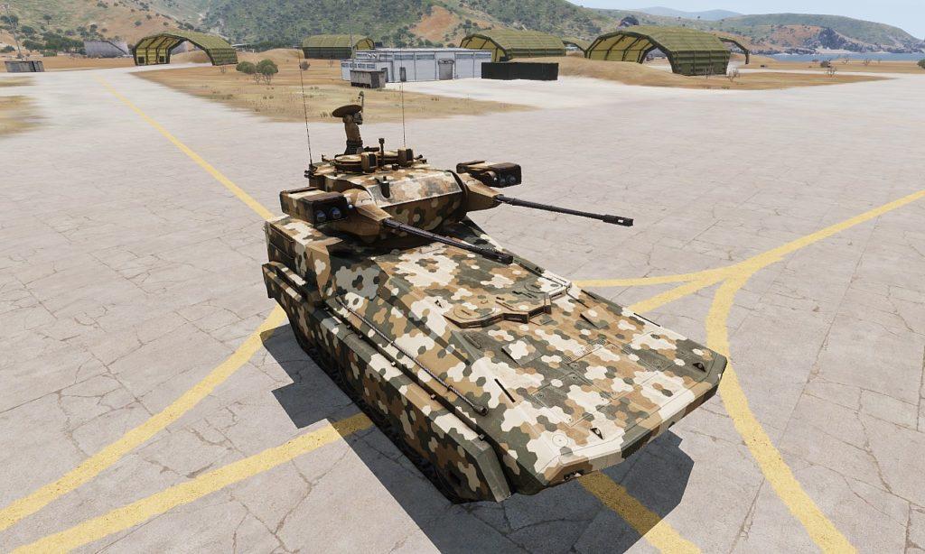 Arma3 Zsu-39 Tigris 自走対空砲 3