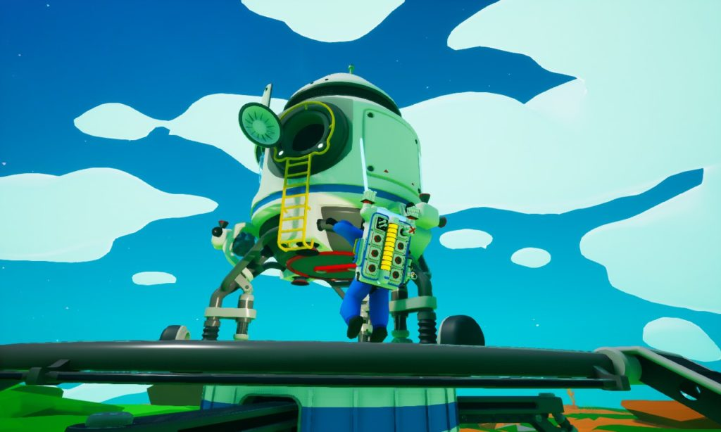 Astroneer 乗り物 小型シャトル