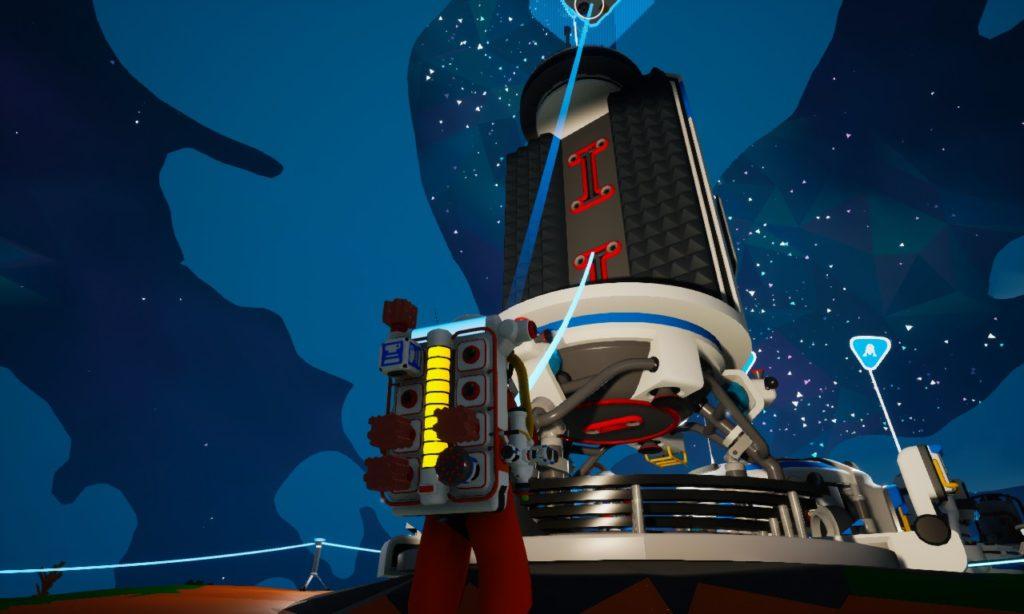 Astroneer 乗り物 大きなシャトル