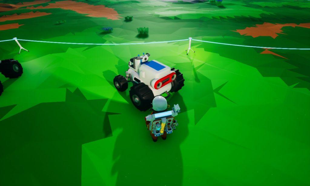 Astroneer 乗り物 トラクター