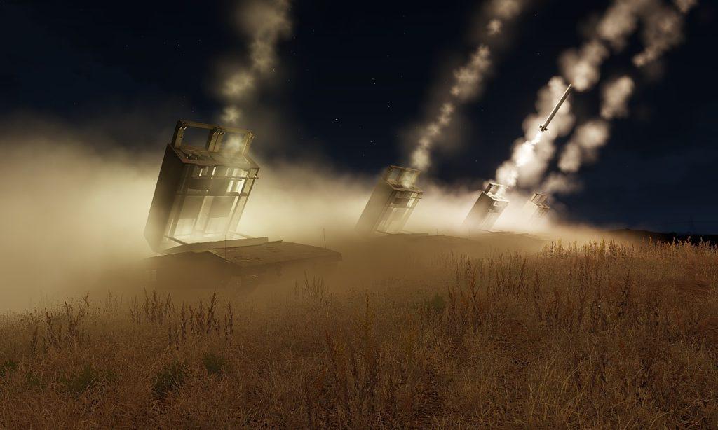 Arma3 M5 Sandstorm MLRS