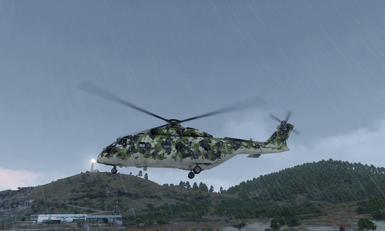 Arma3 CH-49 Mohawk( EH-101)