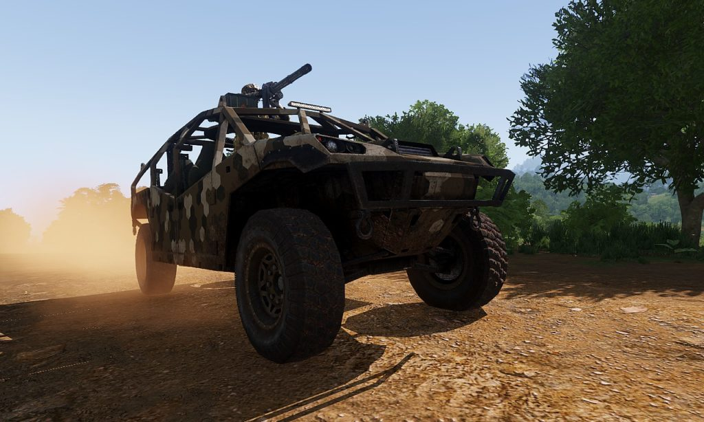 Arma3 Quilin 高機動車 4