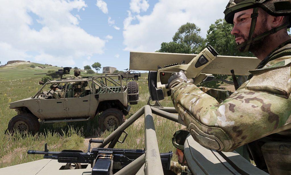 Arma3 Prowler 高機動車 3