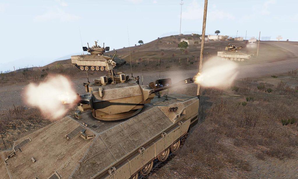 Arma3 IFV-6a Cheetah 自走対空砲 3
