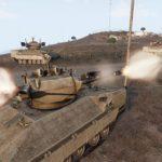 自走対空砲 の35mm砲射撃を見よ! Arma3 IFV-6a Cheetah