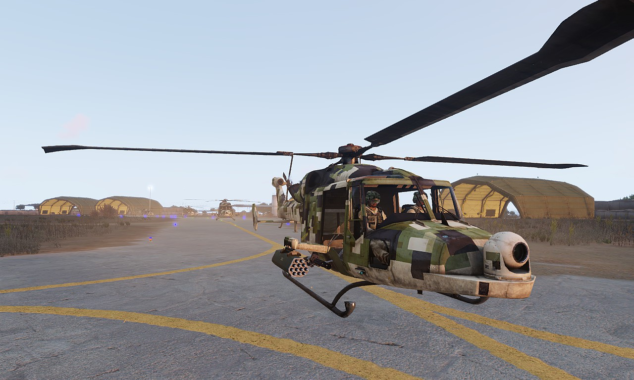 Arma3 WY-55 Hellcat