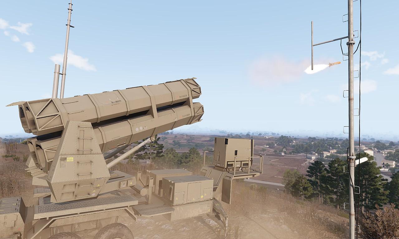 Arma3 MIM-145 Defender