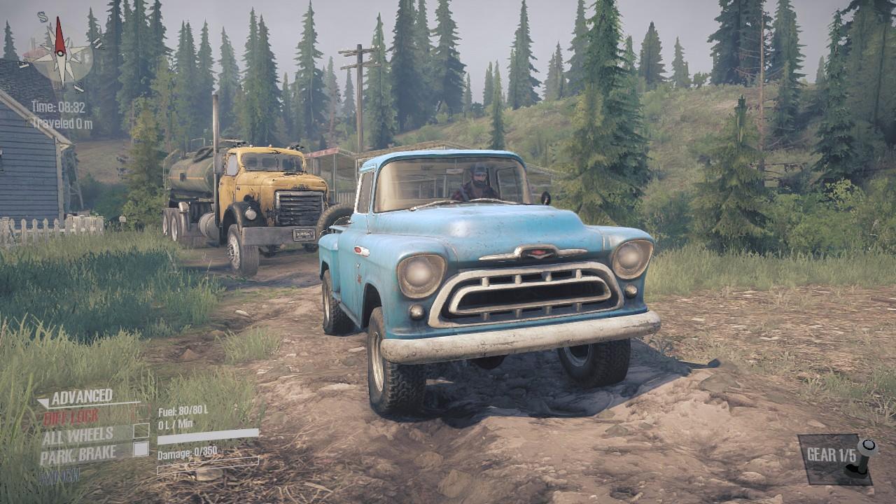 Mudrunner DLC Old Timers