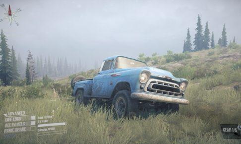 Mudrunner 攻略 Chevrolet Napco 3100