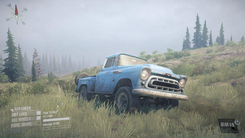 Mudrunner DLC Chevrolet Napco 3100