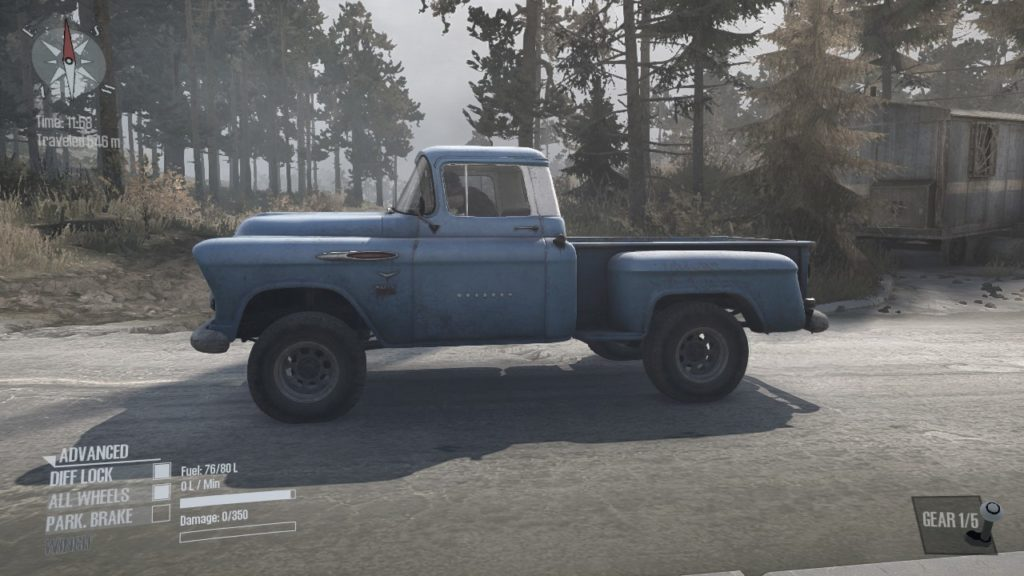 Mudrunner Chevrolet Napco 3100 05