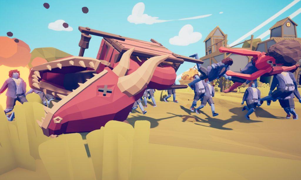 TABS Wheelbarrow Dragon 3