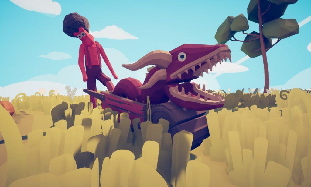 TABS Wheelbarrow Dragon