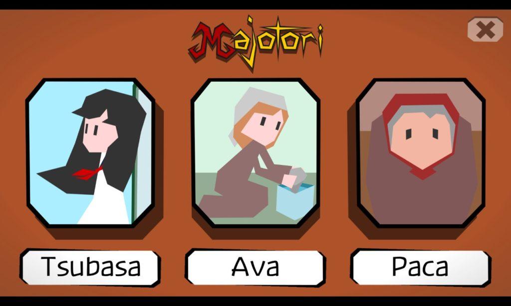 Majotori Characters