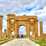 アルジェリア 世界遺産 ティムガッド ローマ時代の姿を伝える植民都市