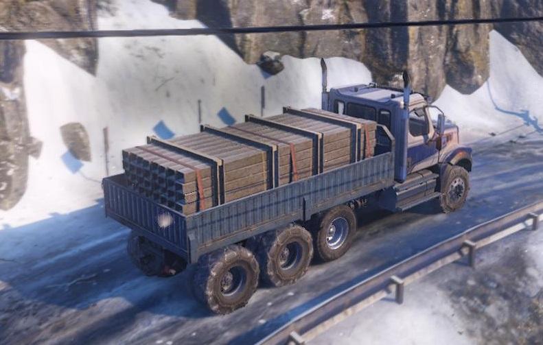 Snowrunner Western Star 49X 4