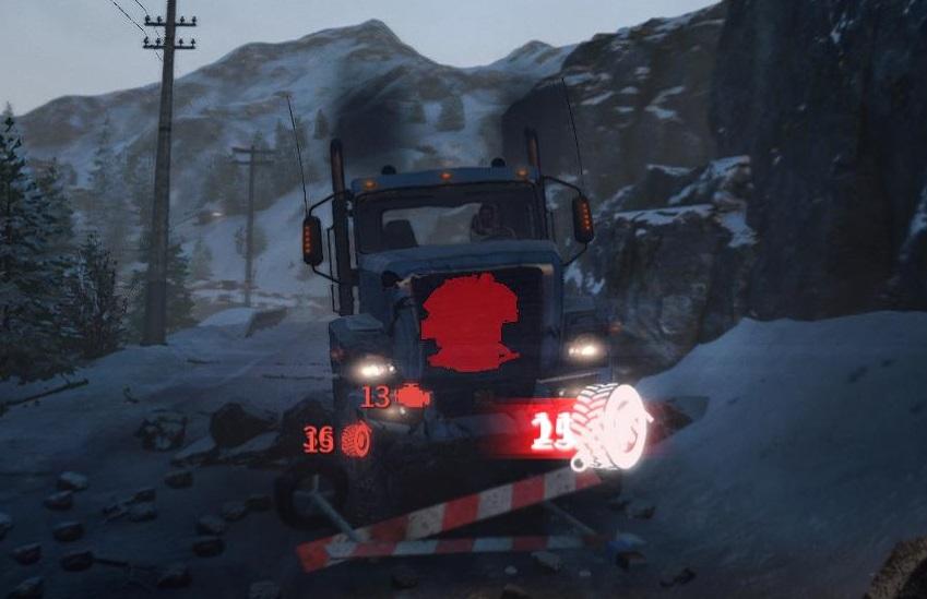 Snowrunner ダメージ