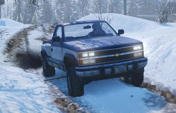 スノーランナー Chevrolet CK1500