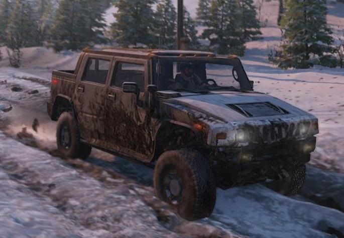 スノーランナー Hummer H2 2