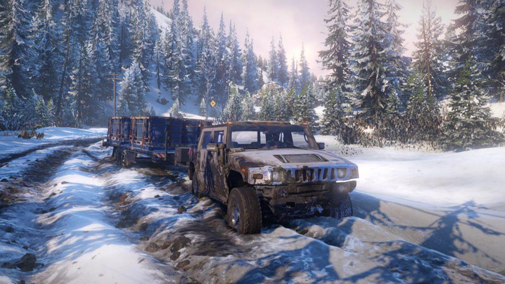 Snowrunner Hummer H2 3