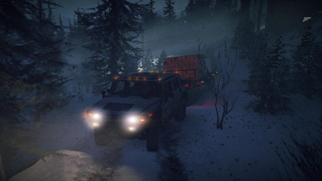 Snowrunner Hummer H2 5