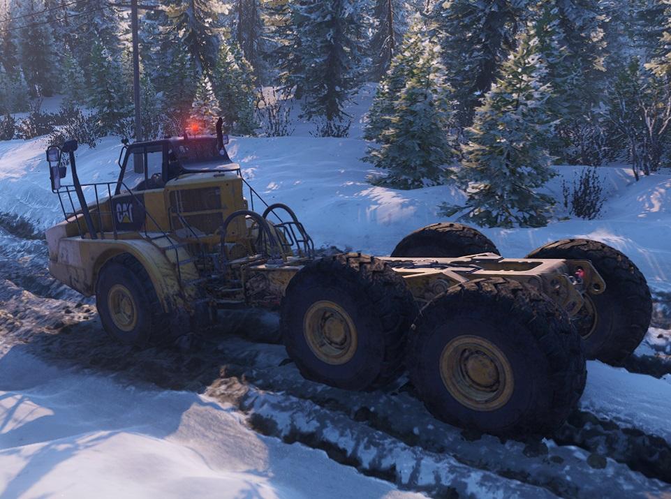 Snowrunner Caterpillar 745C 5