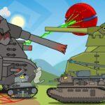 ロシアの戦車アニメがはちゃめちゃで面白い!