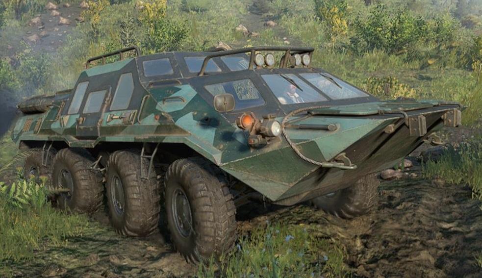スノーランナー TUZ420 Tatarin 2