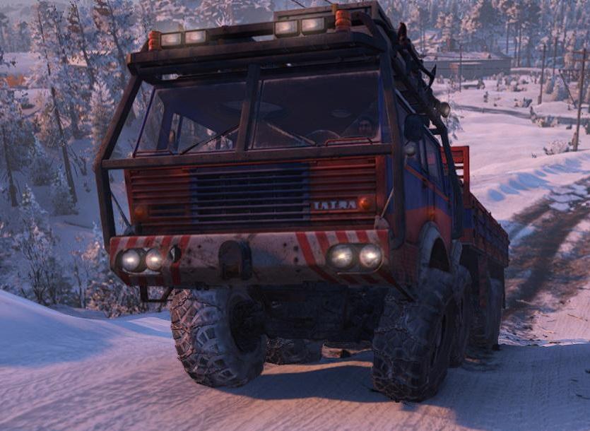 スノーランナー Tatra T813 2