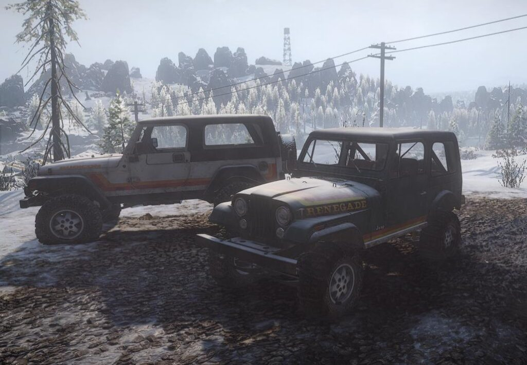 スノーランナー Jeep CJ7 Renegade 3