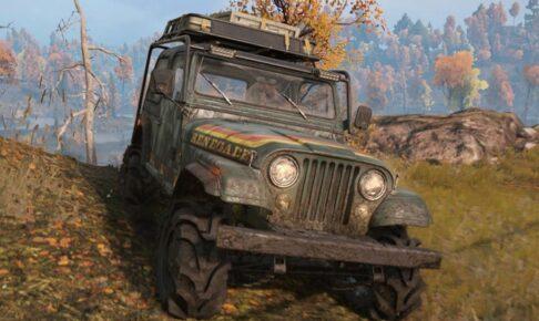 スノーランナー Jeep CJ7 Renegade
