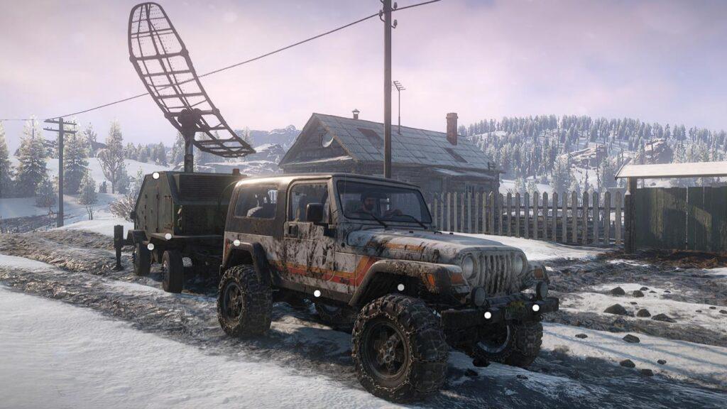 スノーランナー Jeep Wrangler 3