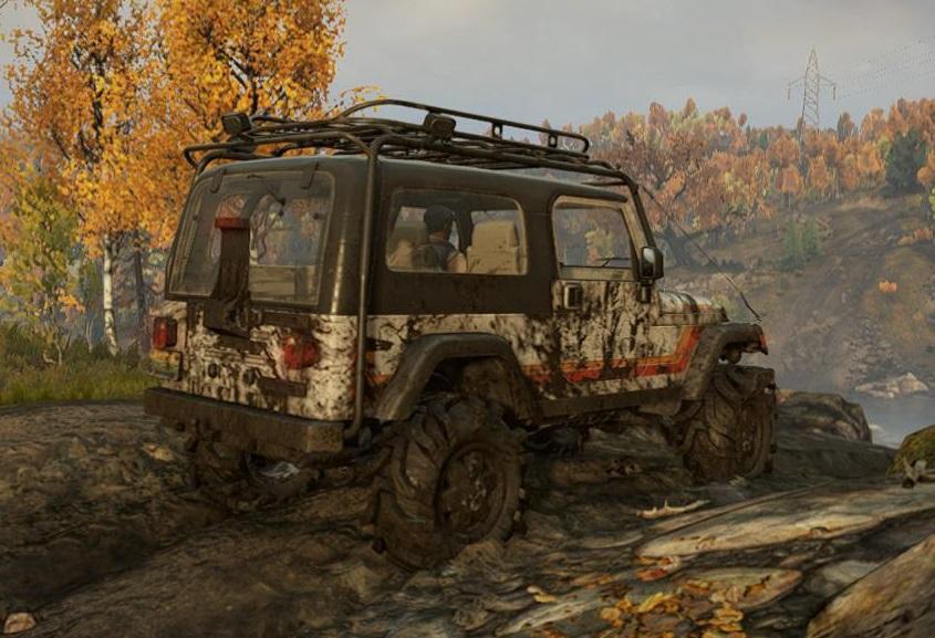 スノーランナー Jeep Wrangler 5