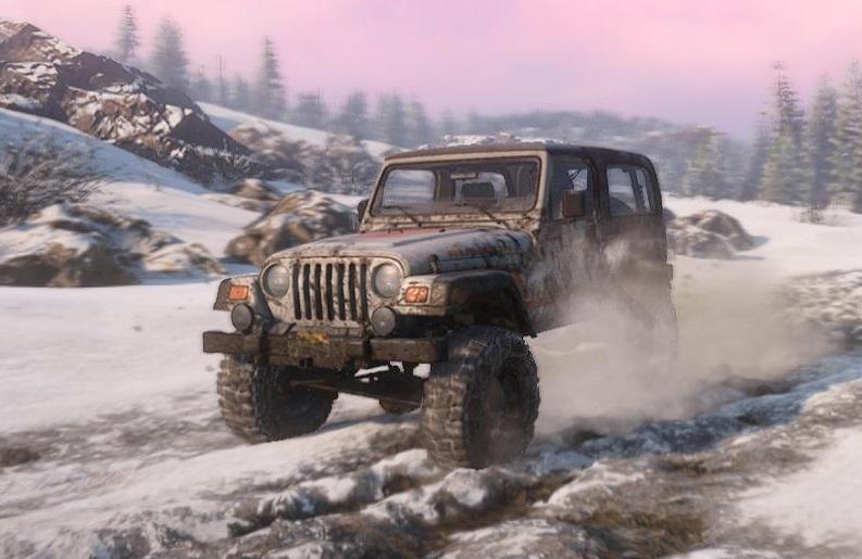 スノーランナー Jeep Wrangler 4